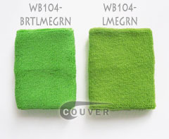 Comparing Bright Lime Green and Lime Green Wristbands