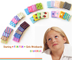 Fun Fun Kids and Girls wristbands