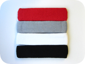 Large sweatband (sports headband pro)