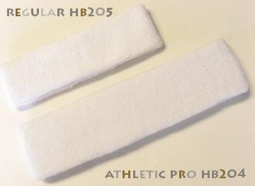 Regular size head Sweatband and Large size head sweatband pro