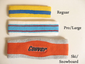 ski snowboard headbands earbands size