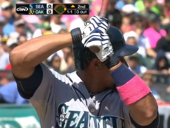 Seattle Mariners with Couver Sweatband