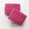cheap hot pink terry wristband 2.5 inch 60 cents piece