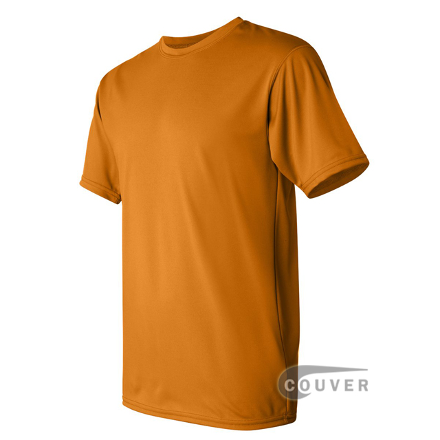 Augusta Sportswear 100% Poly Moisture Wicking T-Shirt Gold - side view
