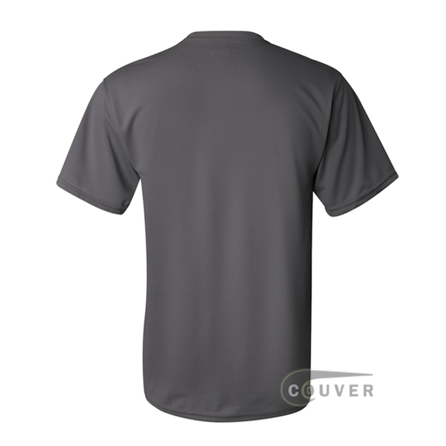 Augusta Sportswear 100% Poly Moisture Wicking T-Shirt Graphite - back view