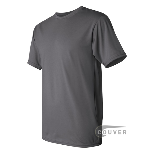 Augusta Sportswear 100% Poly Moisture Wicking T-Shirt Graphite - side view