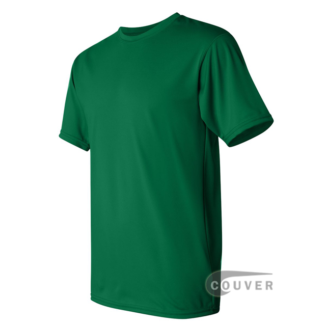 Augusta Sportswear 100% Poly Moisture Wicking T-Shirt Green - side view