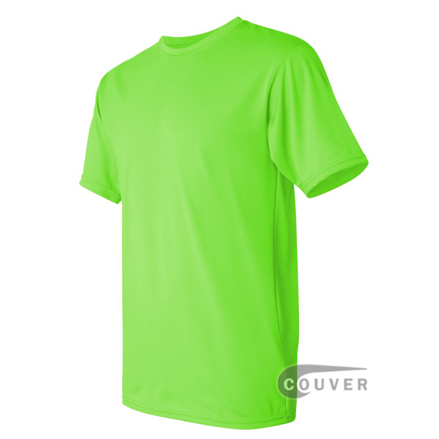 Augusta Sportswear 100% Poly Moisture Wicking T-Shirt Lime - side view