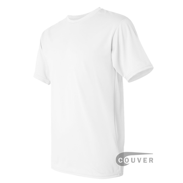 Augusta Sportswear 100% Poly Moisture Wicking T-Shirt White - side view