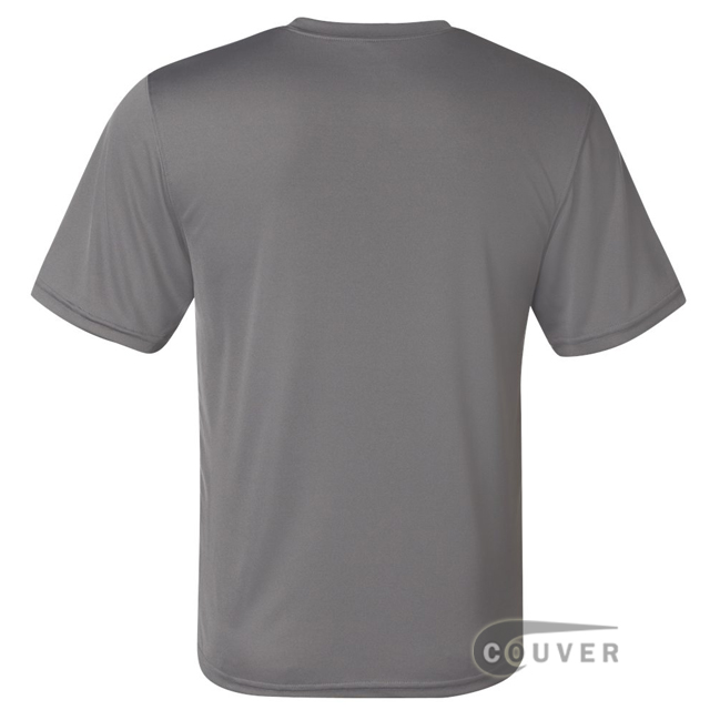 Champion Men's Double Dry Performance T-Shirt - Gray - back view