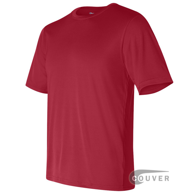 Champion Men's Double Dry Performance T-Shirt - Scarlet - side view