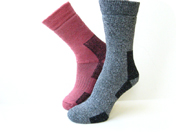 couver hiking socks hs600 series pink blue