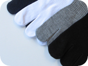 toe socks with bamboo charcoal all