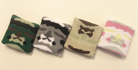 camouflage wrist bands colors>