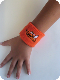 Halloween sweat headband, terry sweat wristband for Kids, Children, Youth, Men, and Women