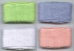 baby kid's cotton terry-cloth sweatband