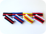 children's striped wrist band other colors