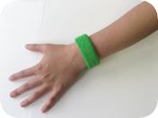 1inch Wrist Sweatband